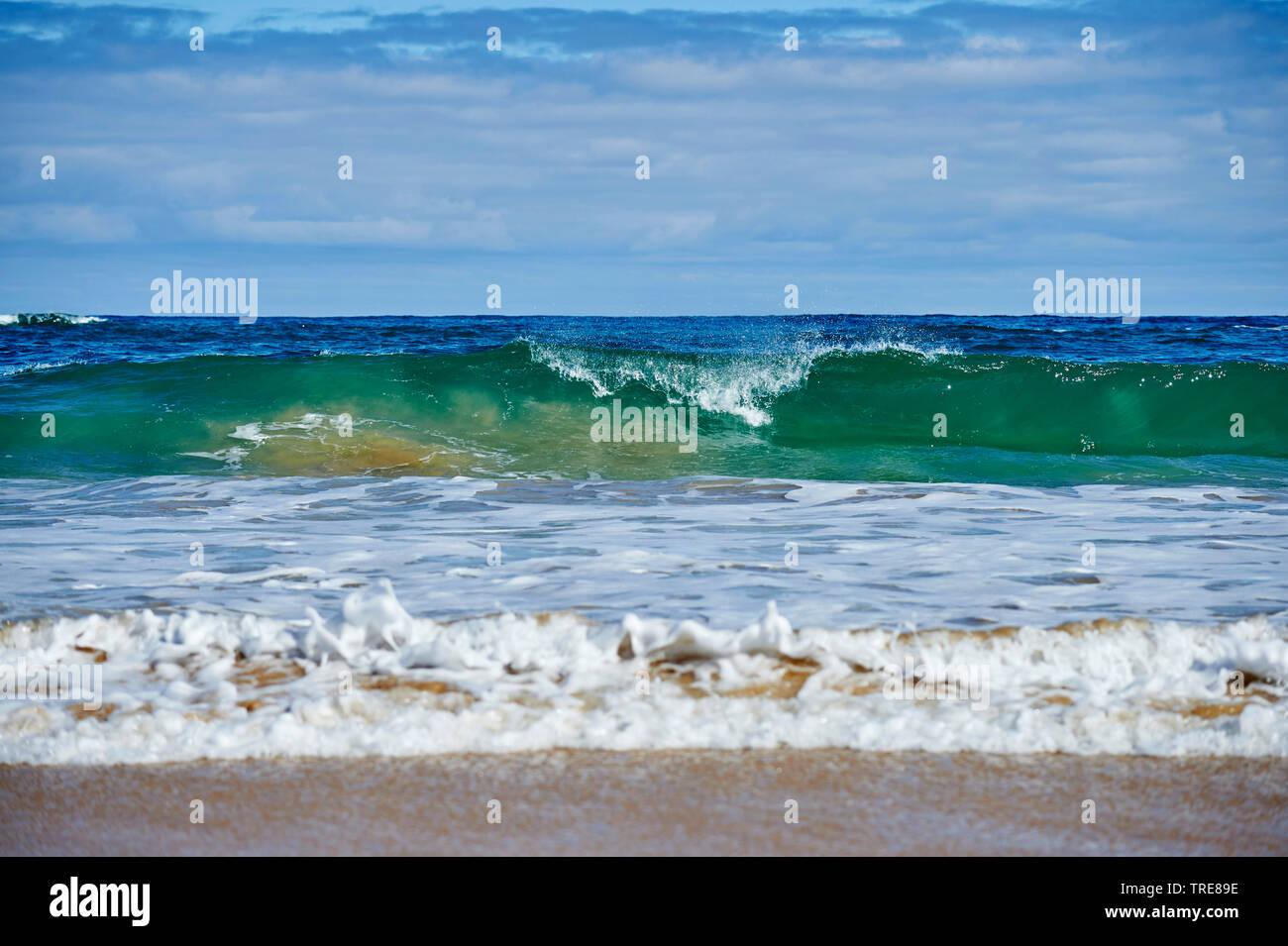 Meeresbrandung, Australien, Victoria | breaking waves at the sea, Australia, Victoria | BLWS519823.jpg [ (c) blickwinkel/D. u. M. Sheldon Tel. +49 (0) - Stock Image