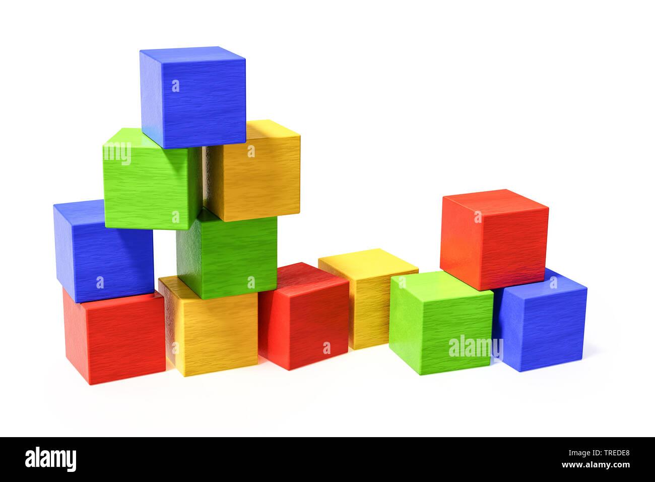 Wooden Bricks Stock Photos & Wooden Bricks Stock Images - Alamy