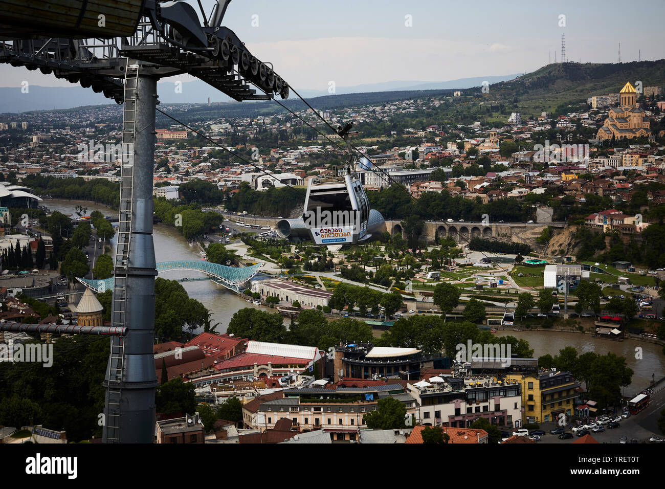 View of Tbilisi. Stock Photo