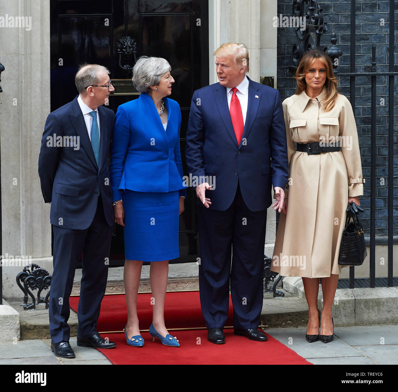 Husband May The 4th Be With You: London, UK. 4th June, 2019. American President Donald