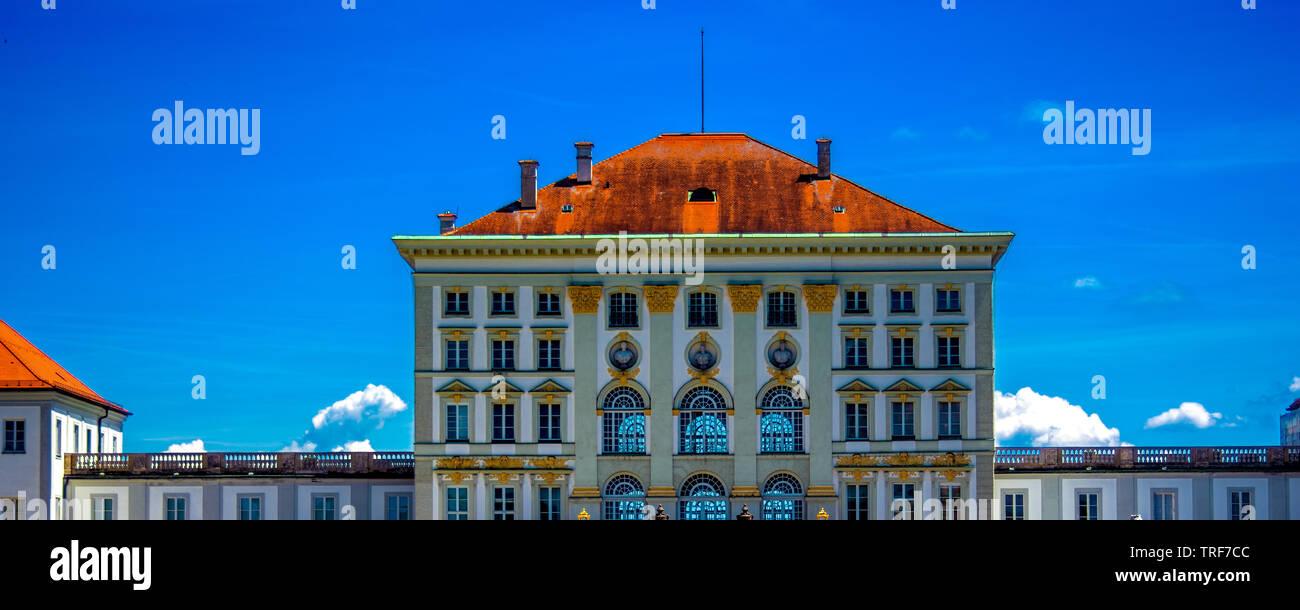 D - Nympfenburg : Nympfenburg Palace - Stock Image