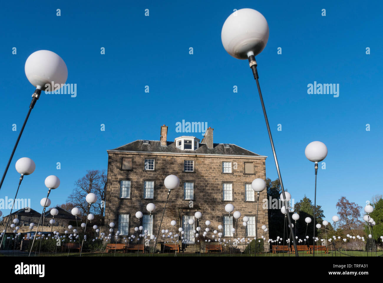 Royal Botanic Gardens, Edinburgh - Stock Image