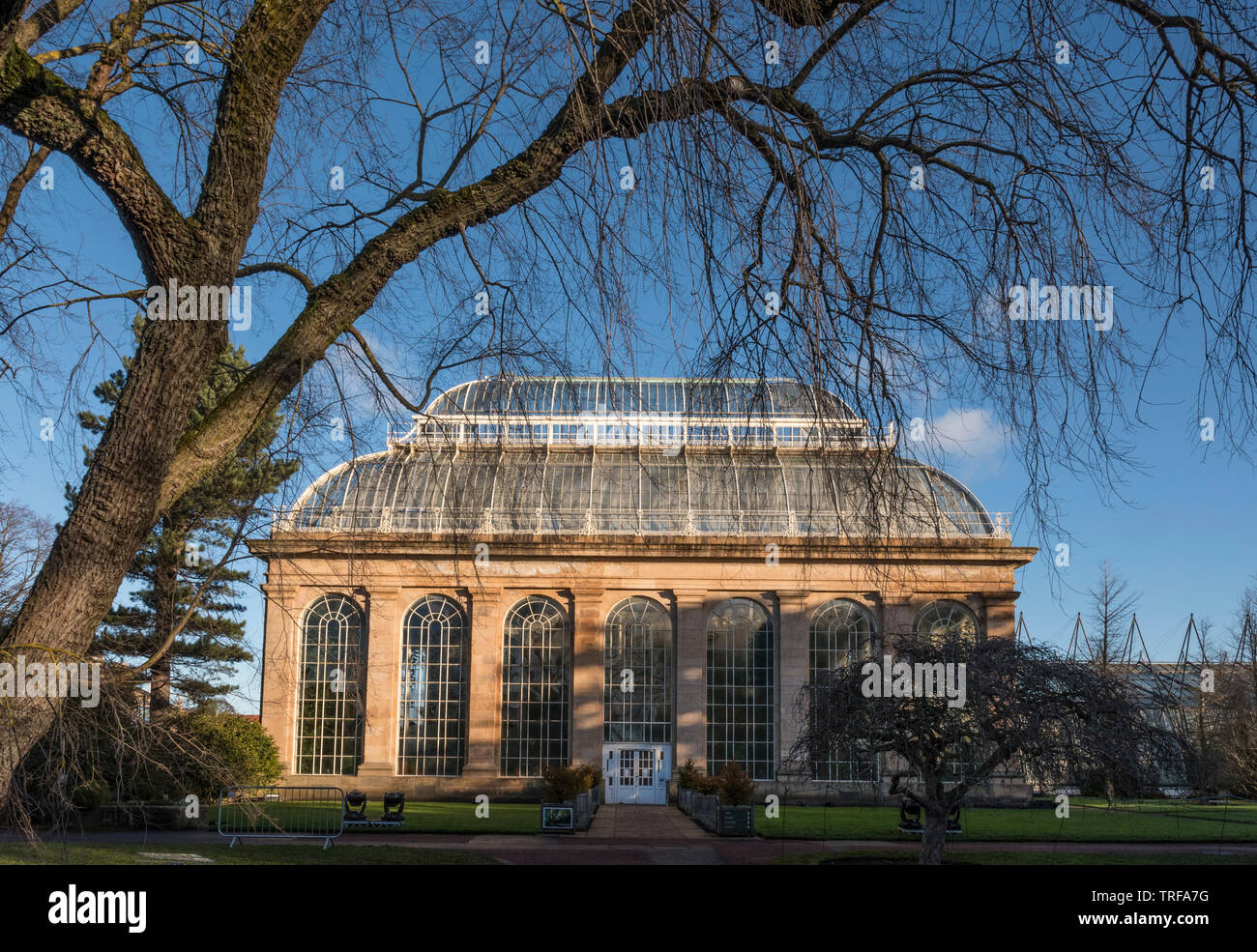 The Palm House, Royal Botanic Garden, Edinburgh - Stock Image