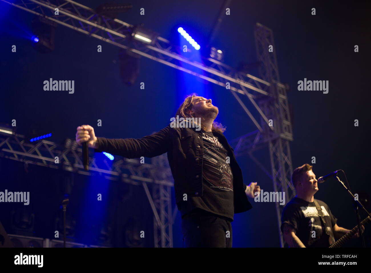wage war live at slam dunk festival 2019 - Stock Image