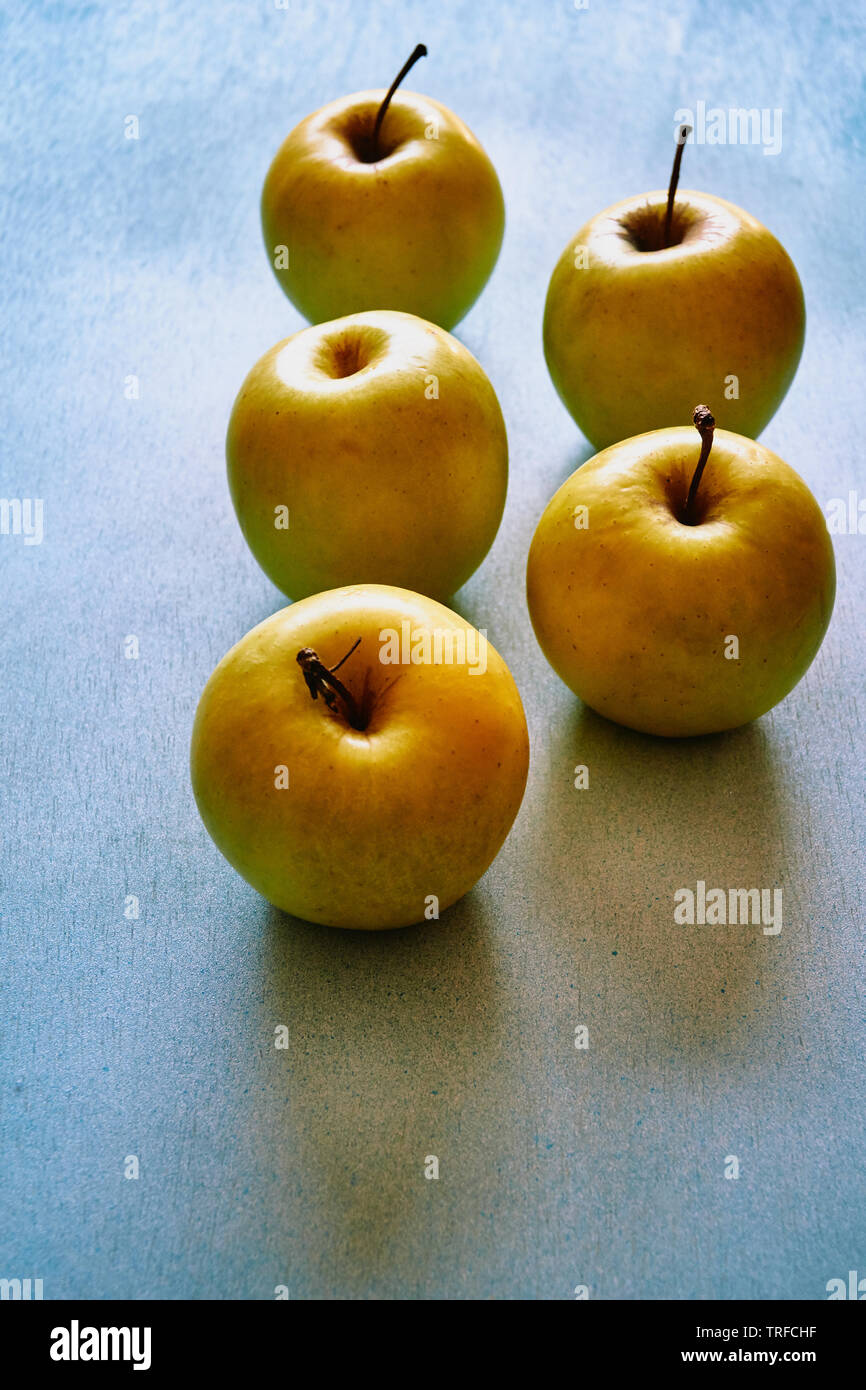 apples background - Stock Image