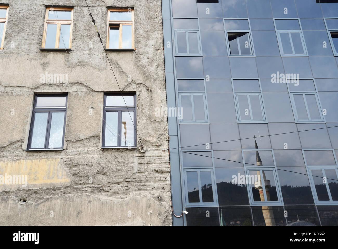 Streets of Sarajevo - Stock Image