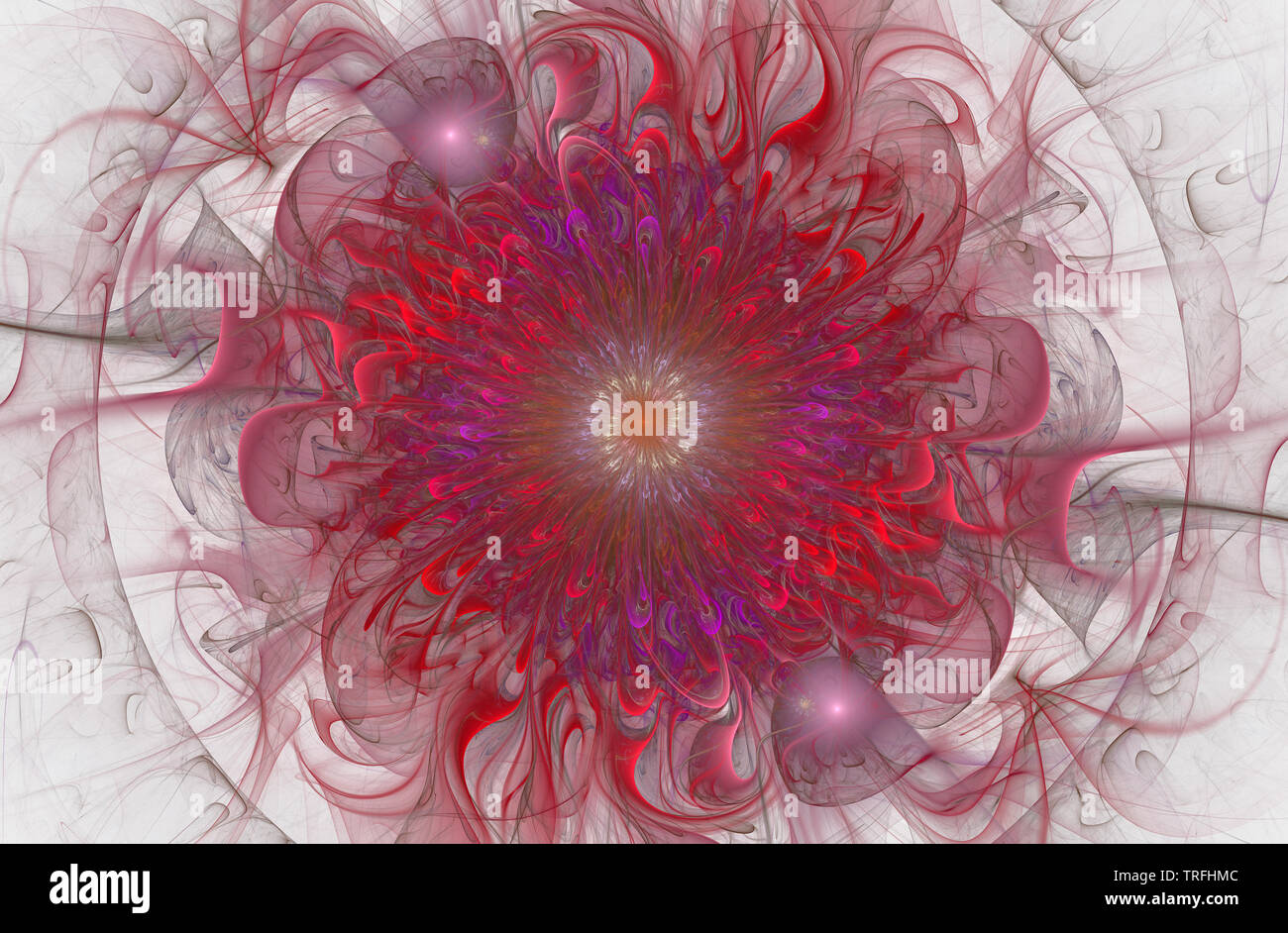 Bright shiny and Exotic floral pattern  Beautiful abstract flower
