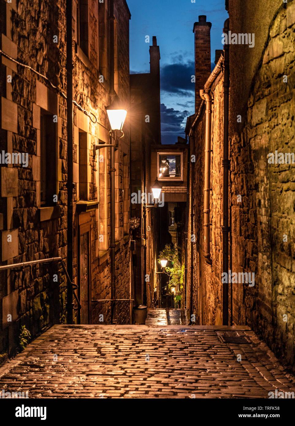 Royal Mile close, Edinburgh - Stock Image