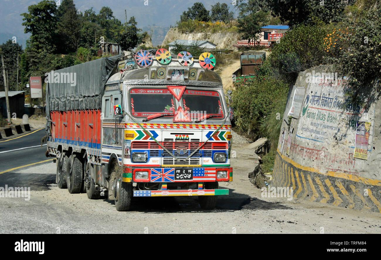 Tata Truck Stock Photos & Tata Truck Stock Images - Alamy