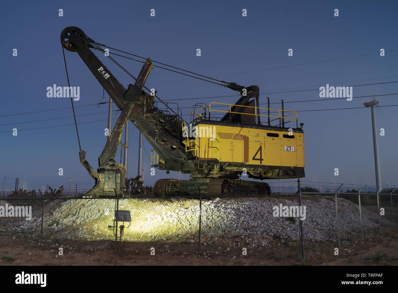 rope shovels mining bitcoins