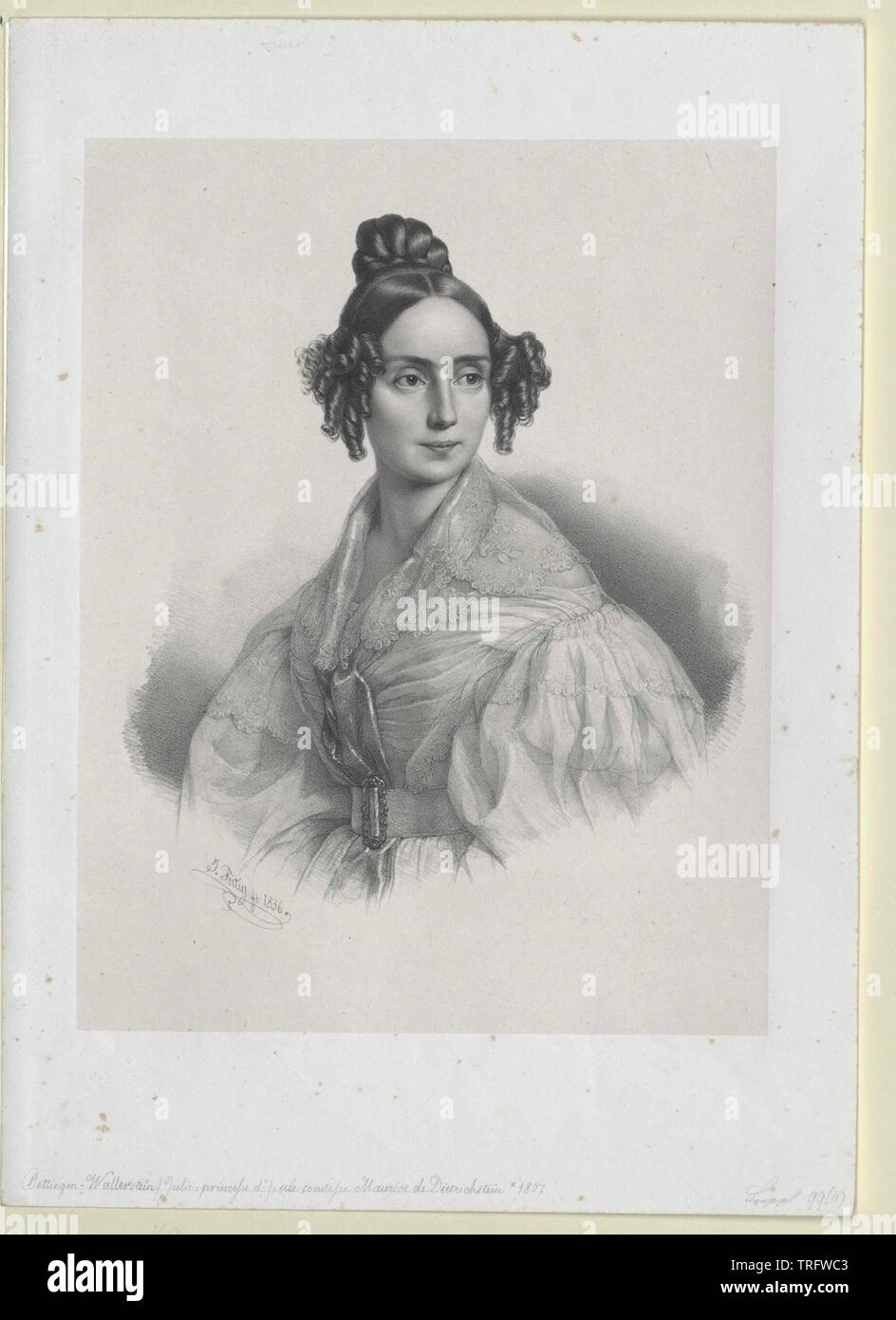 Dietrichstein, Julie countess, Additional-Rights-Clearance-Info-Not-Available - Stock Image