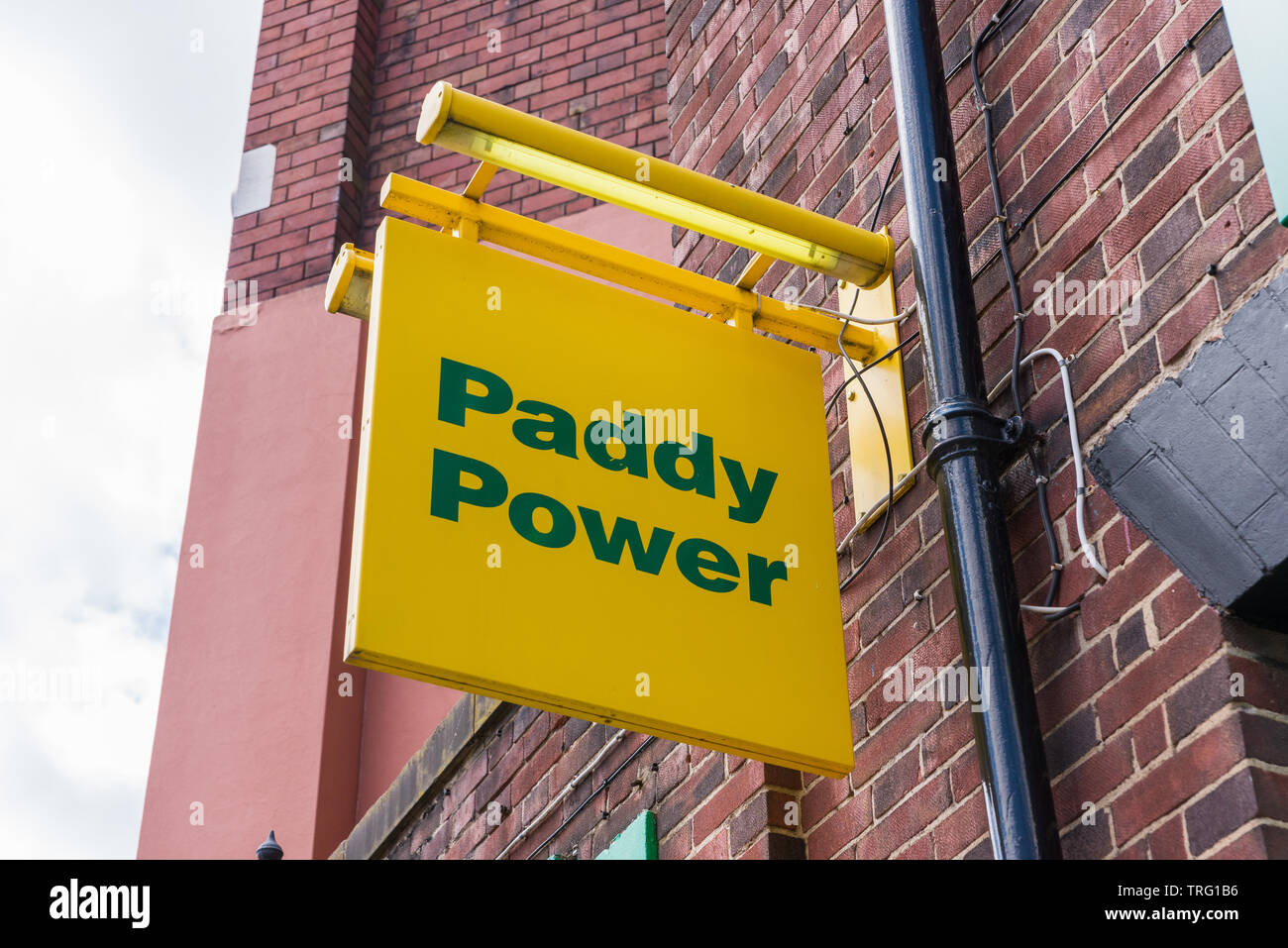 Paddy Power bookmakers in the centre of Wolverhampton, UK Stock Photo