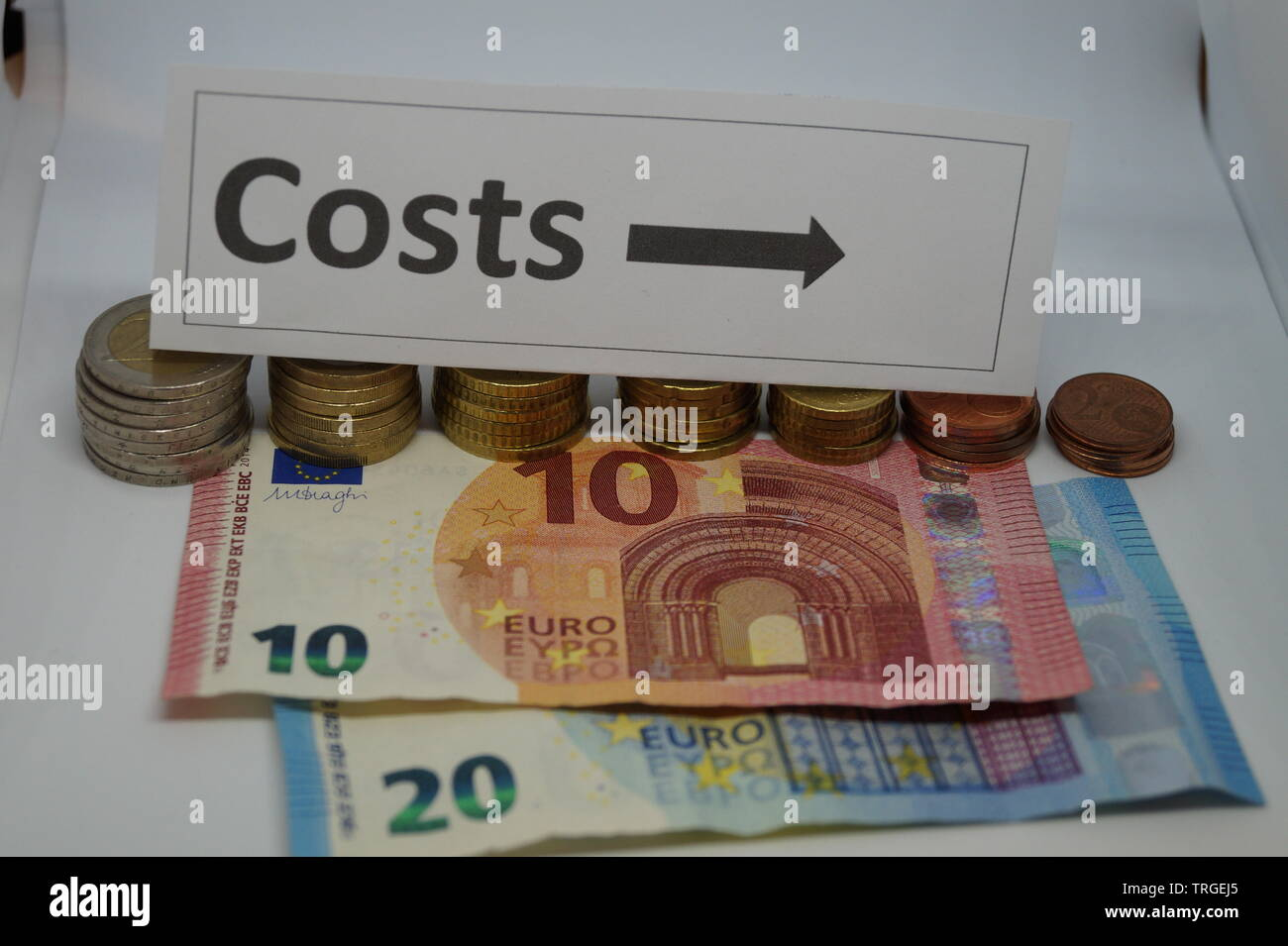 cost reduction - Stock Image
