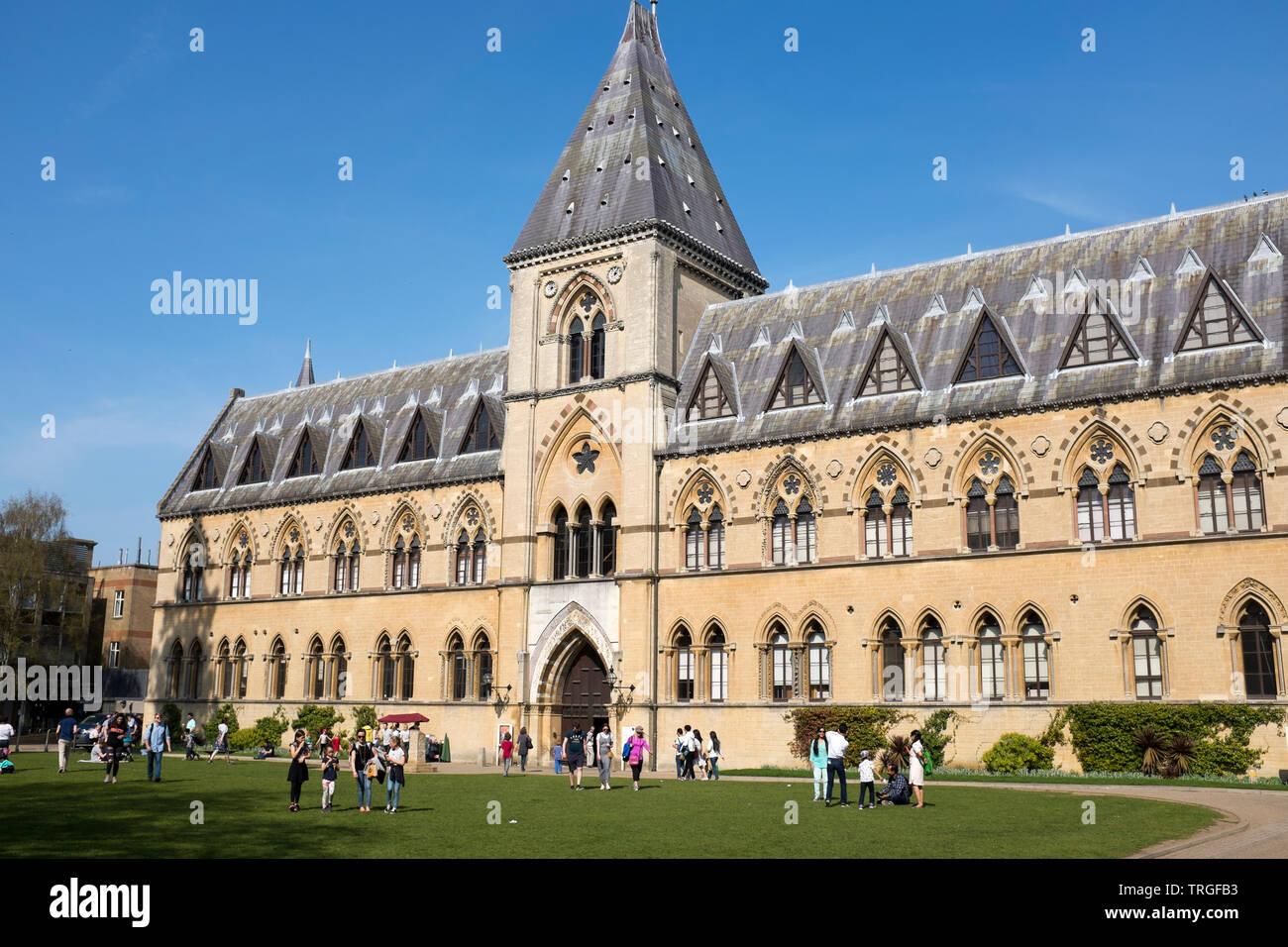 Pitt Rivers Museum - University of Oxford - Stock Image