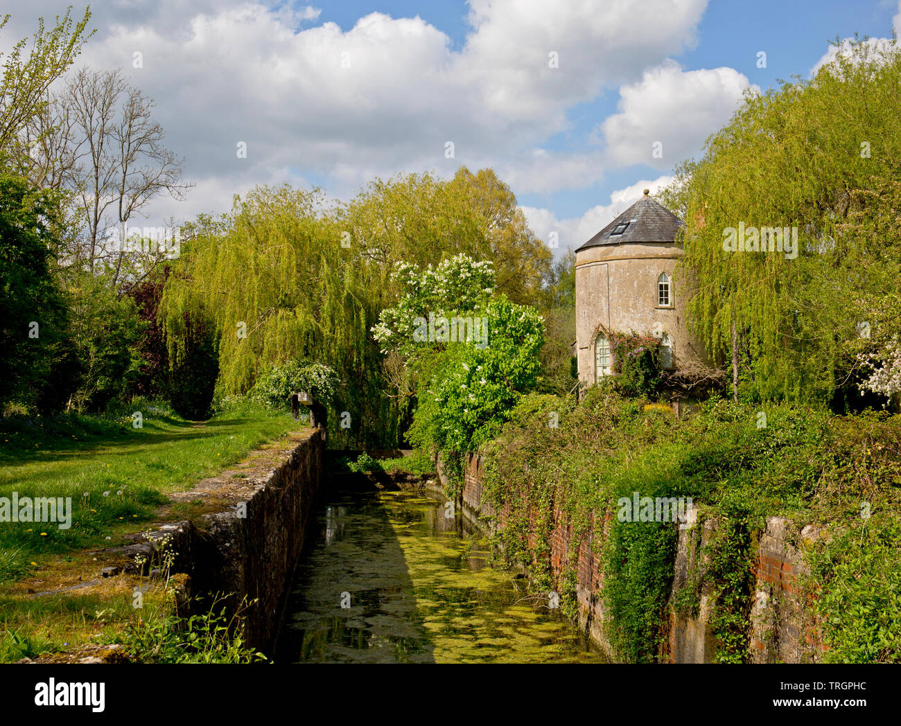 Cerney Wick Lock, Thames and Severn canal - Stock Image