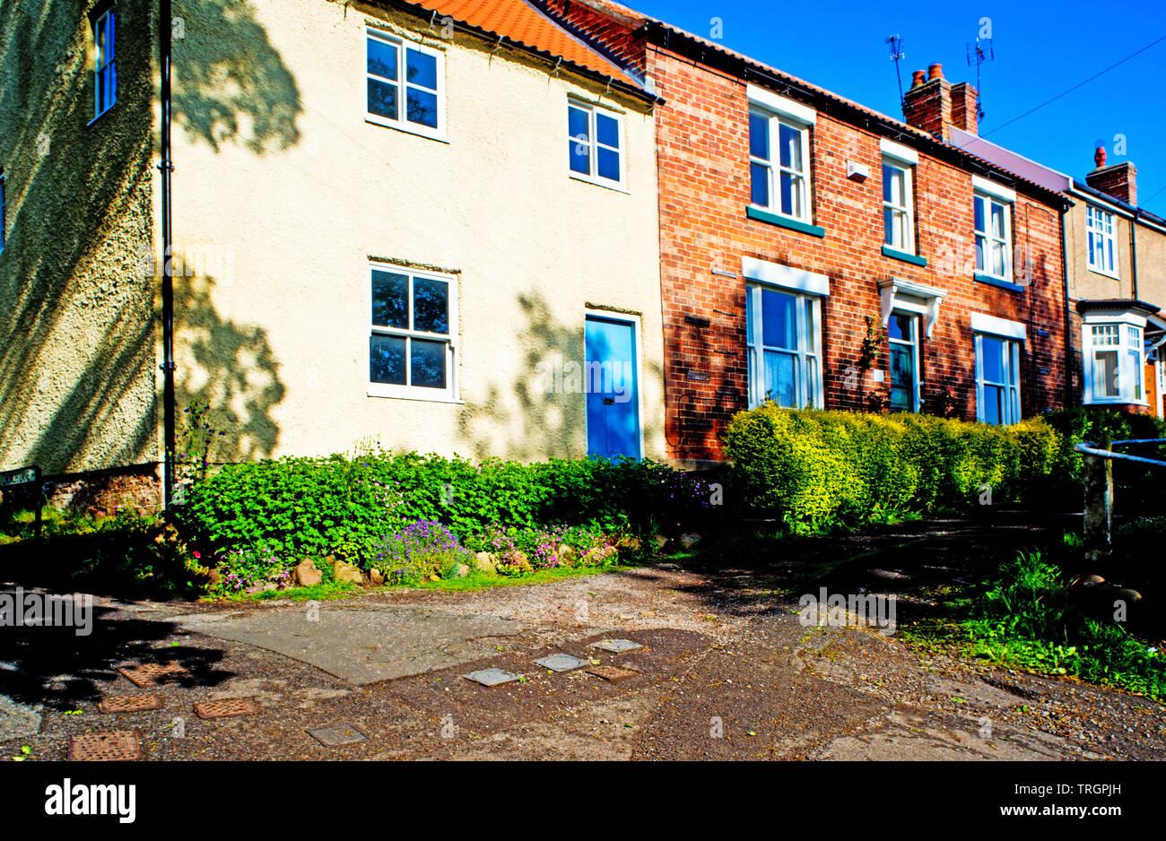 Middleton Road, Sadberge, Borough of Darlington, England Stock Photo