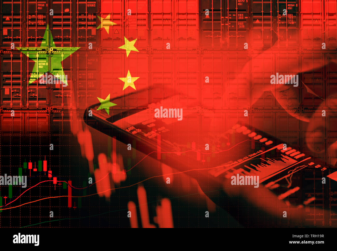 China stock market / Shanghai stock exchange crisis economy