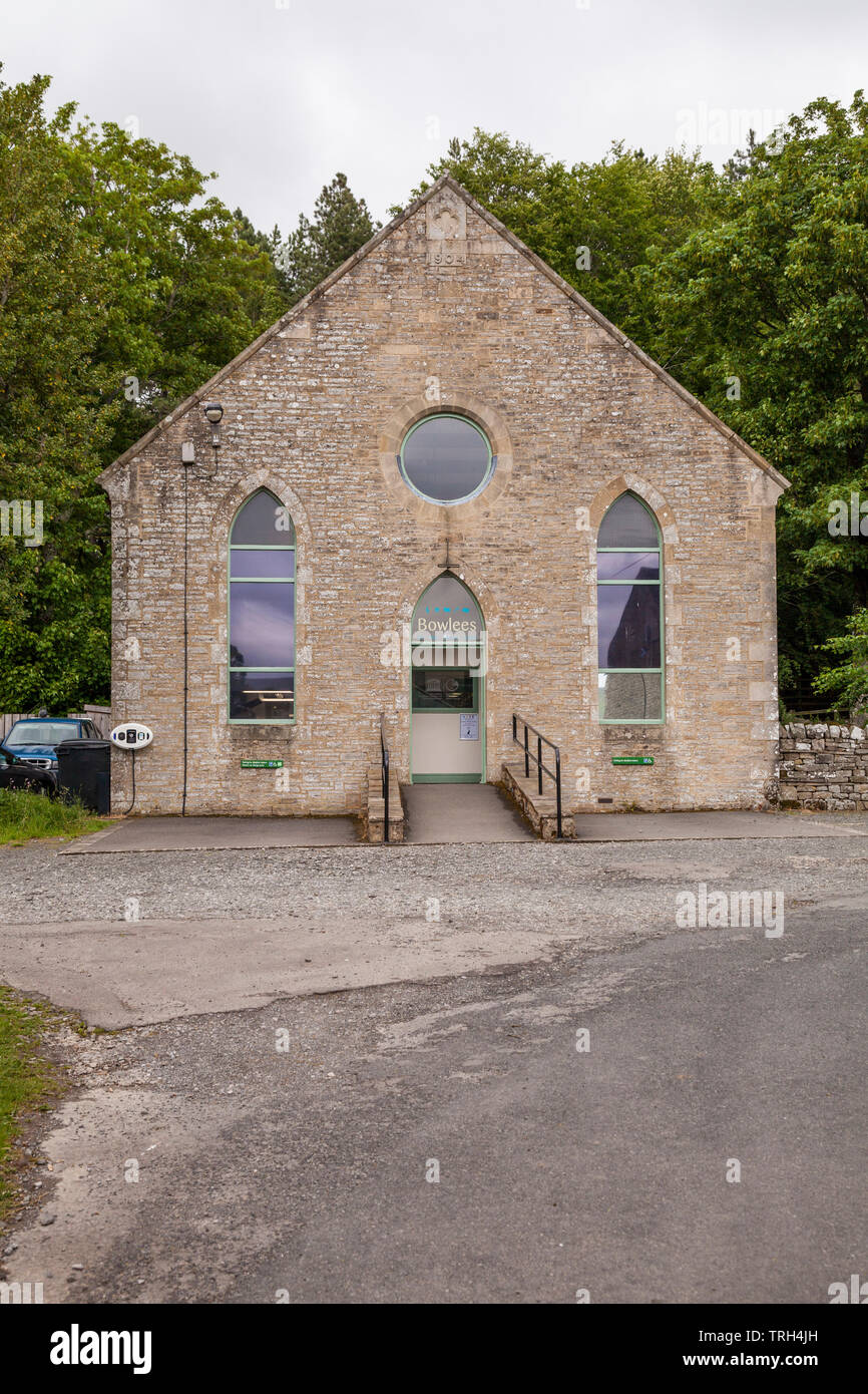 Bowlees Visitor Centre,Teesdale,England,UK - Stock Image