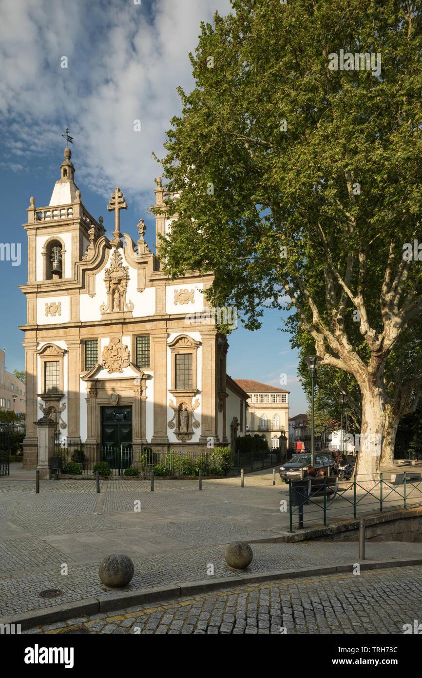 Igreja de Sao Pedro, Vila Real, Peniche, Portugal - Stock Image