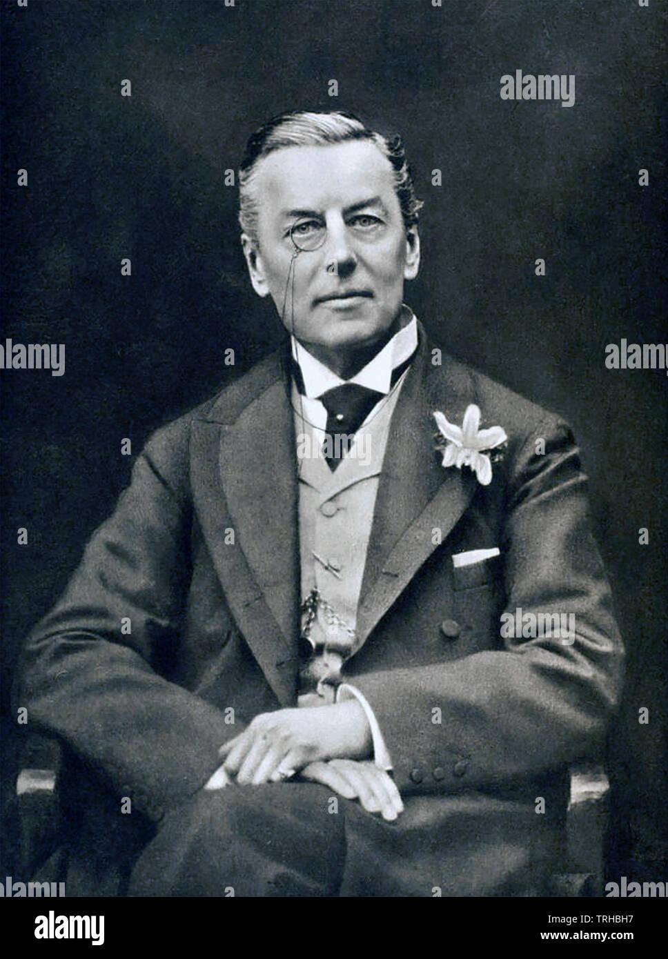 JOSEPH CHAMBERLAIN (1836-1914) British politician and statesman - Stock Image