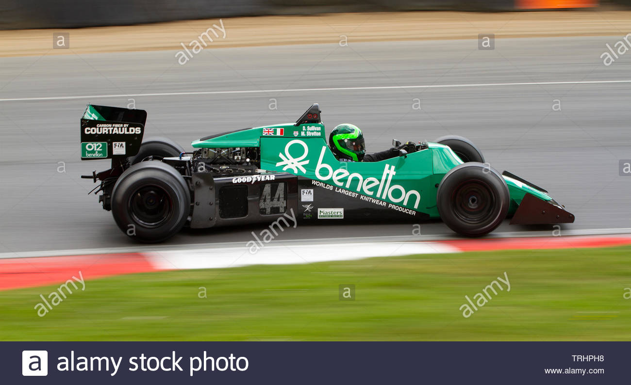 Tyrrell 012, Formula One Car, FIA Masters Historic, Brands Hatch, - Stock Image
