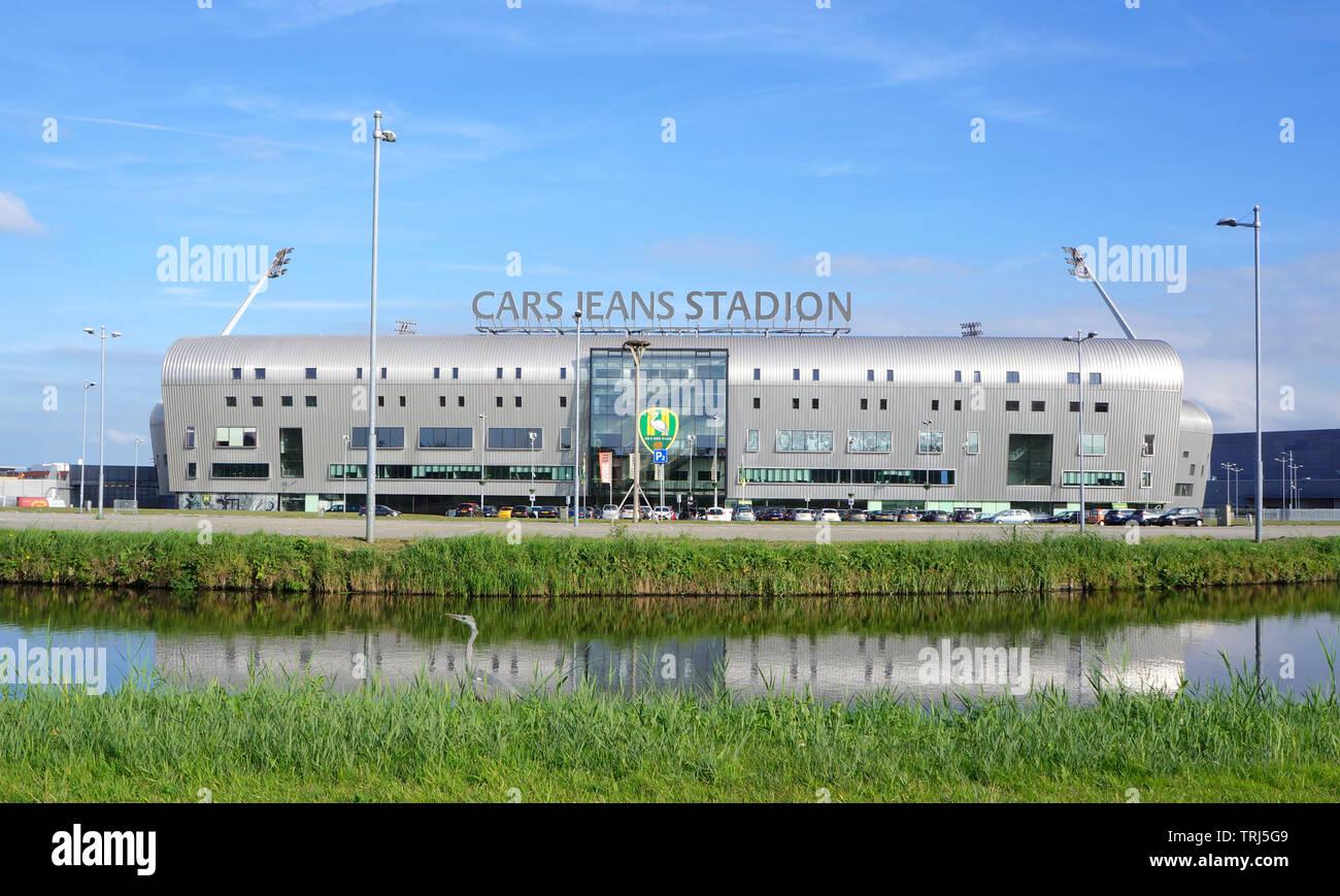 Cars Jeans Stadion Stadium Used By Dutch Soccer Club Ado Den Haag Stock Photo Alamy