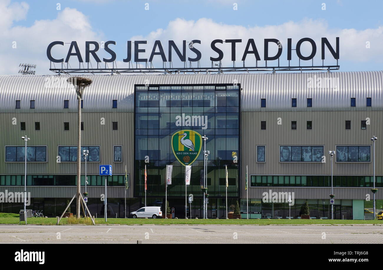 The Cars Jeans Stadion Stadium Is Used By Dutch Eredivisie Soccer Club Ado Den Haag Stock Photo Alamy