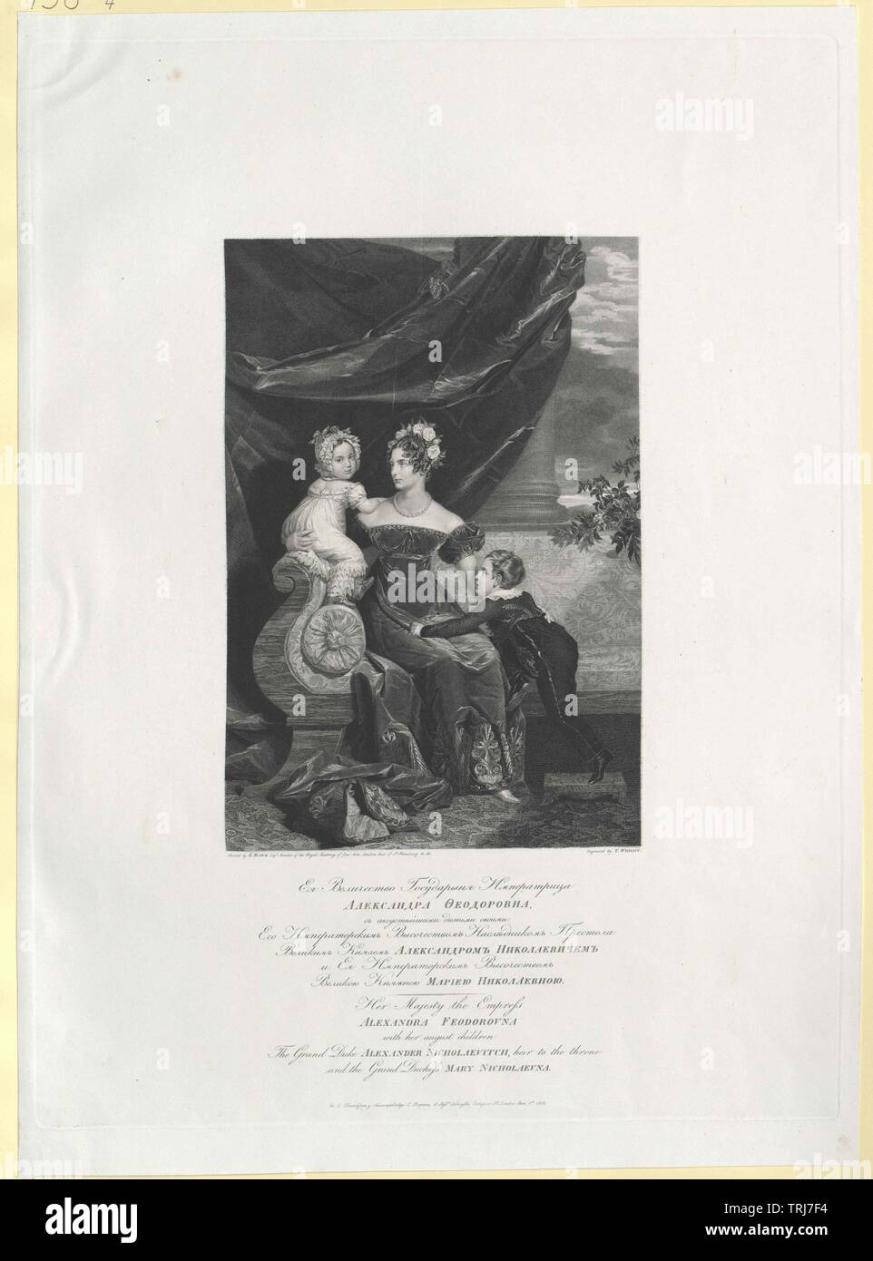 Charlotte, princess of Prussian, Additional-Rights-Clearance-Info-Not-Available Stock Photo