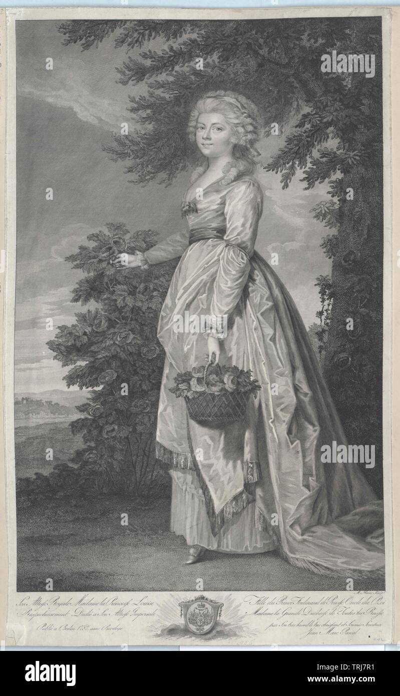 Louisa, princess of Prussian, Additional-Rights-Clearance-Info-Not-Available Stock Photo