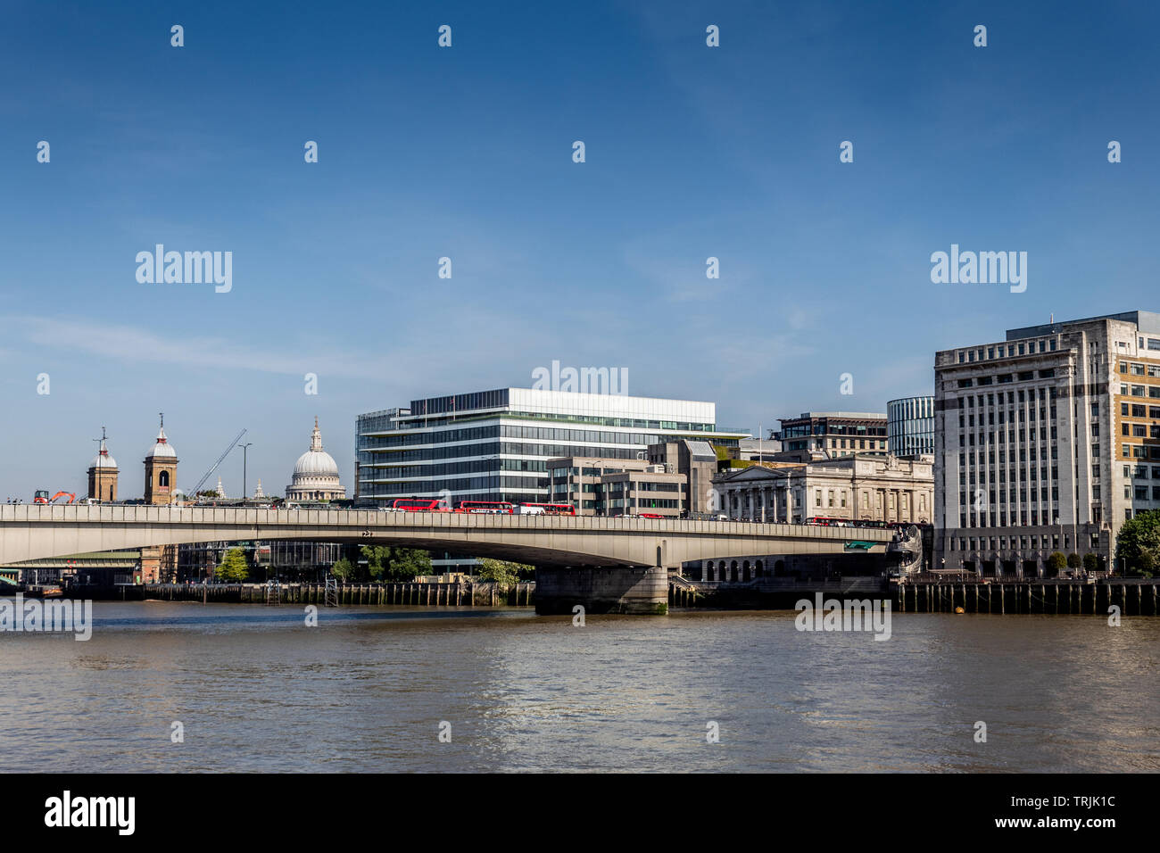 London Bridge, City of London, UK - Stock Image