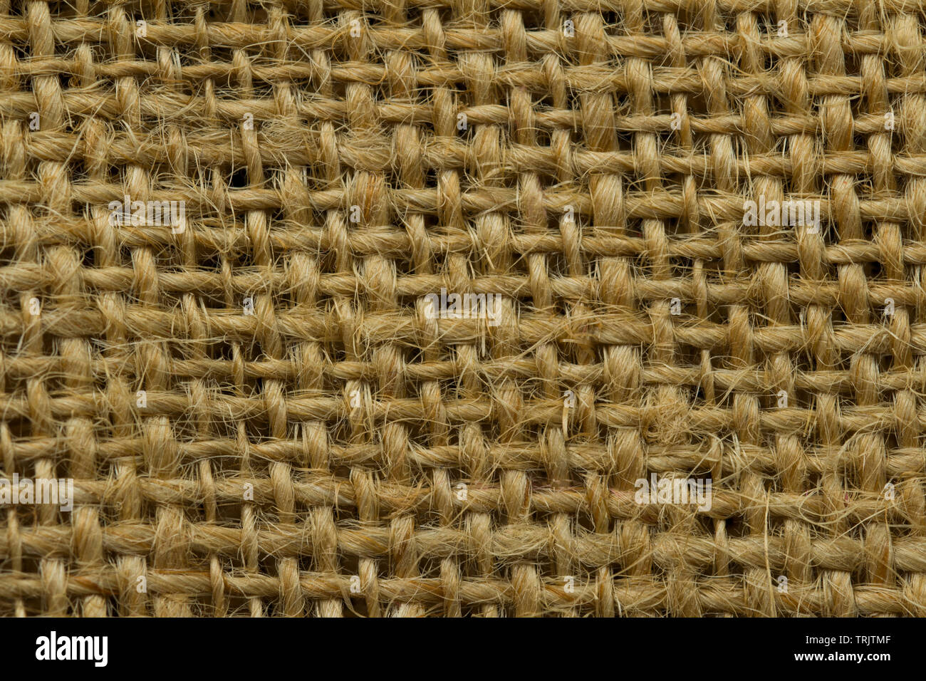 Grunge Background of textile texture. Dark Natural linen rough texture for background. Fabric textured linen bag.Sacking Background - Stock Image