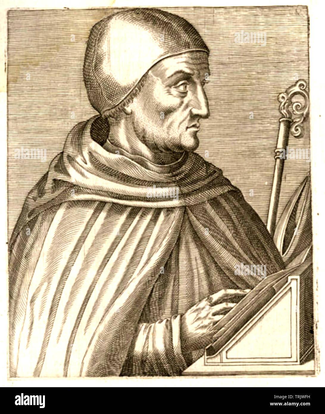 ALBERTUS MAGNUS (c 1193-1280) German Catholic Dominican friar and saint - Stock Image