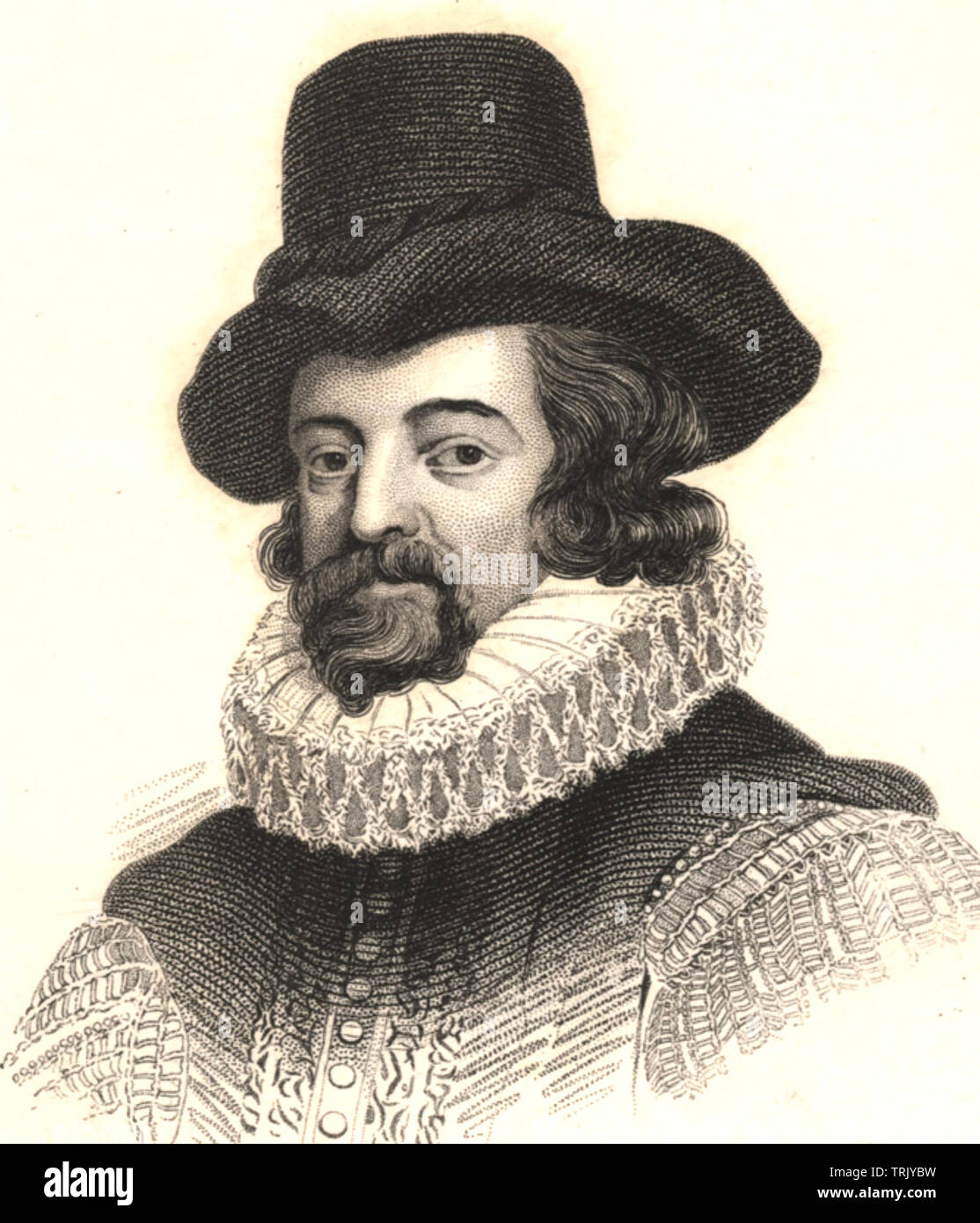 FRANCIS BACON (1561-1626) English philosopher and statesman - Stock Image