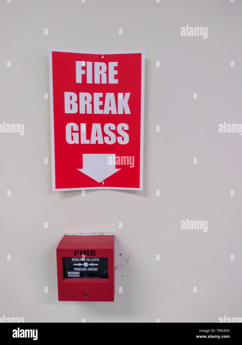 Alarm Sign Stock Photos Alarm Sign Stock Images Alamy