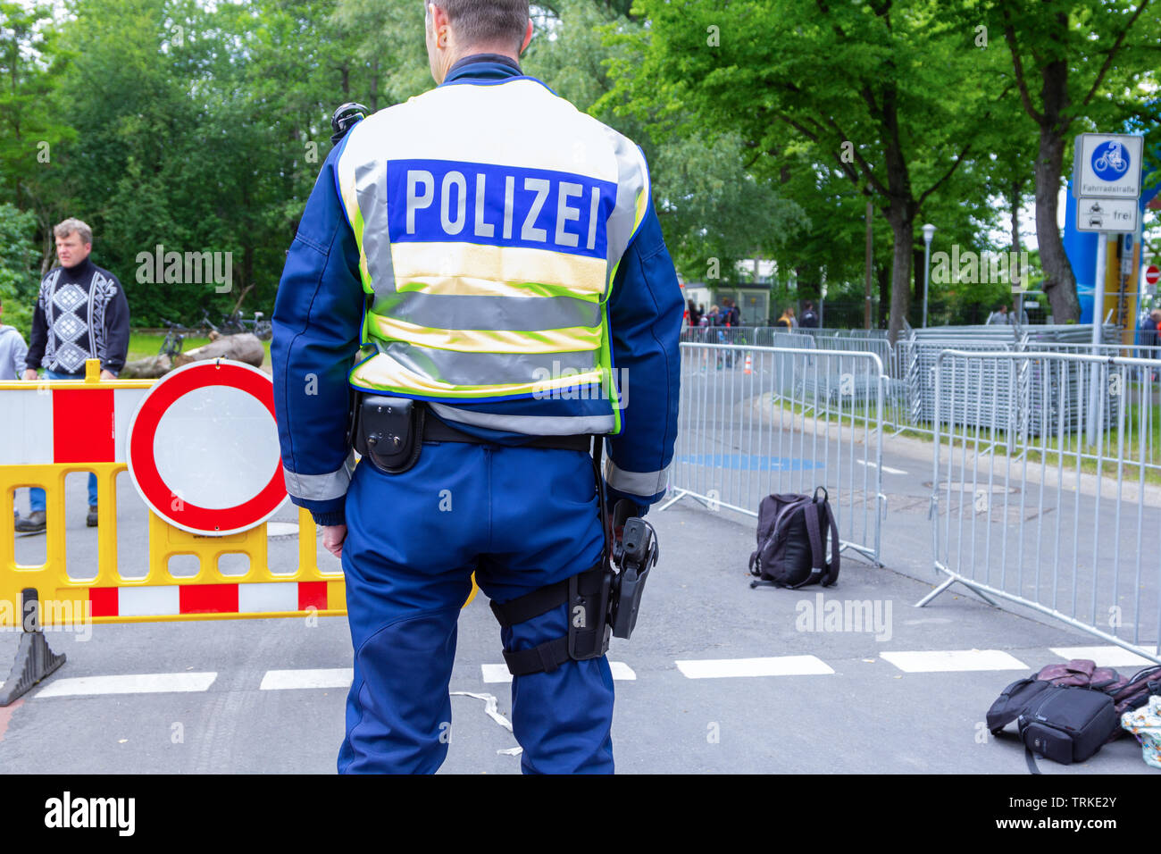 Police Lower Saxony Stock Photos & Police Lower Saxony Stock