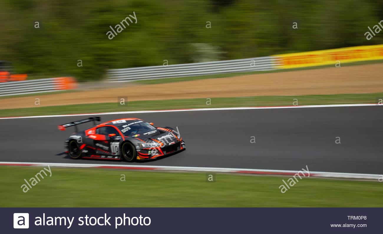BlancpainGT Brands Hatch 2019 - Stock Image