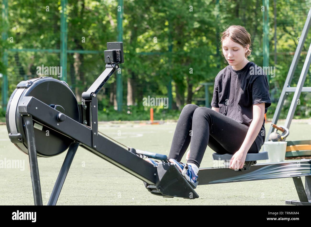 Crossfit rowing bodysuit