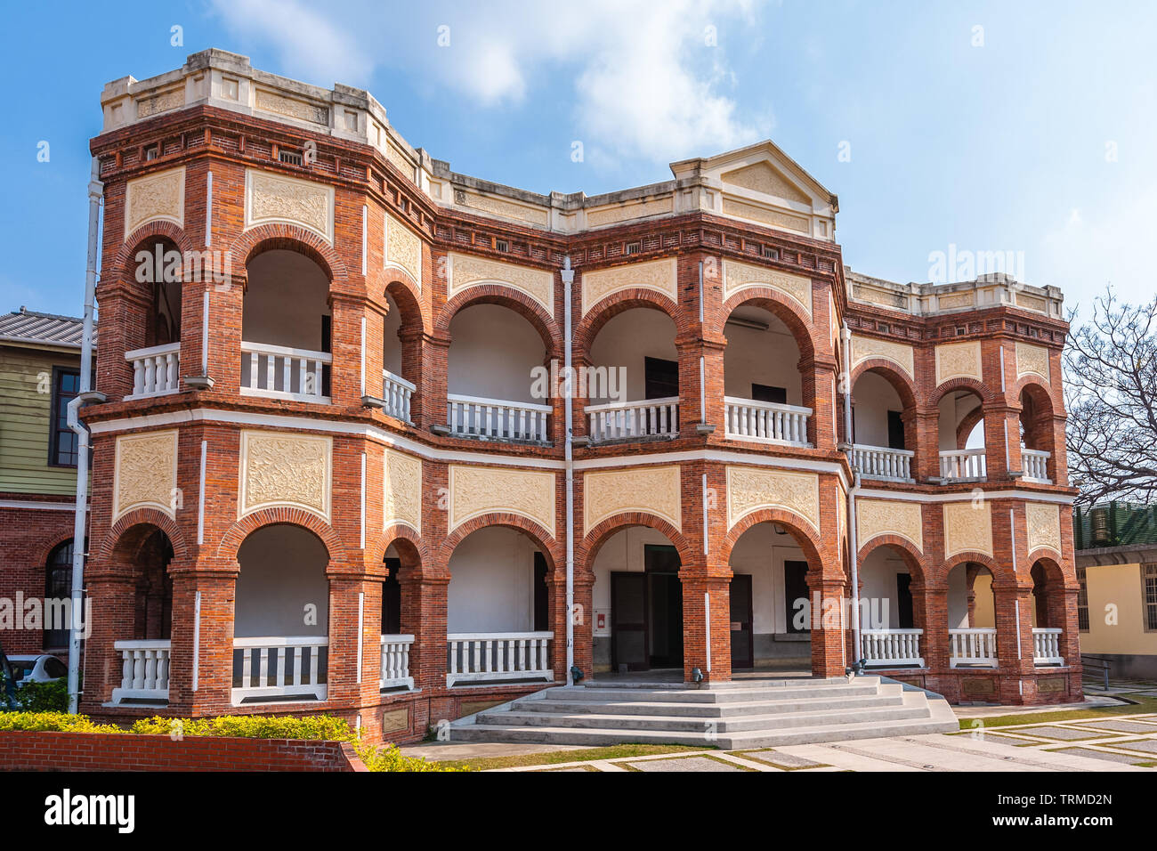 Tainan County Magistrate Residence, Taiwan - Stock Image