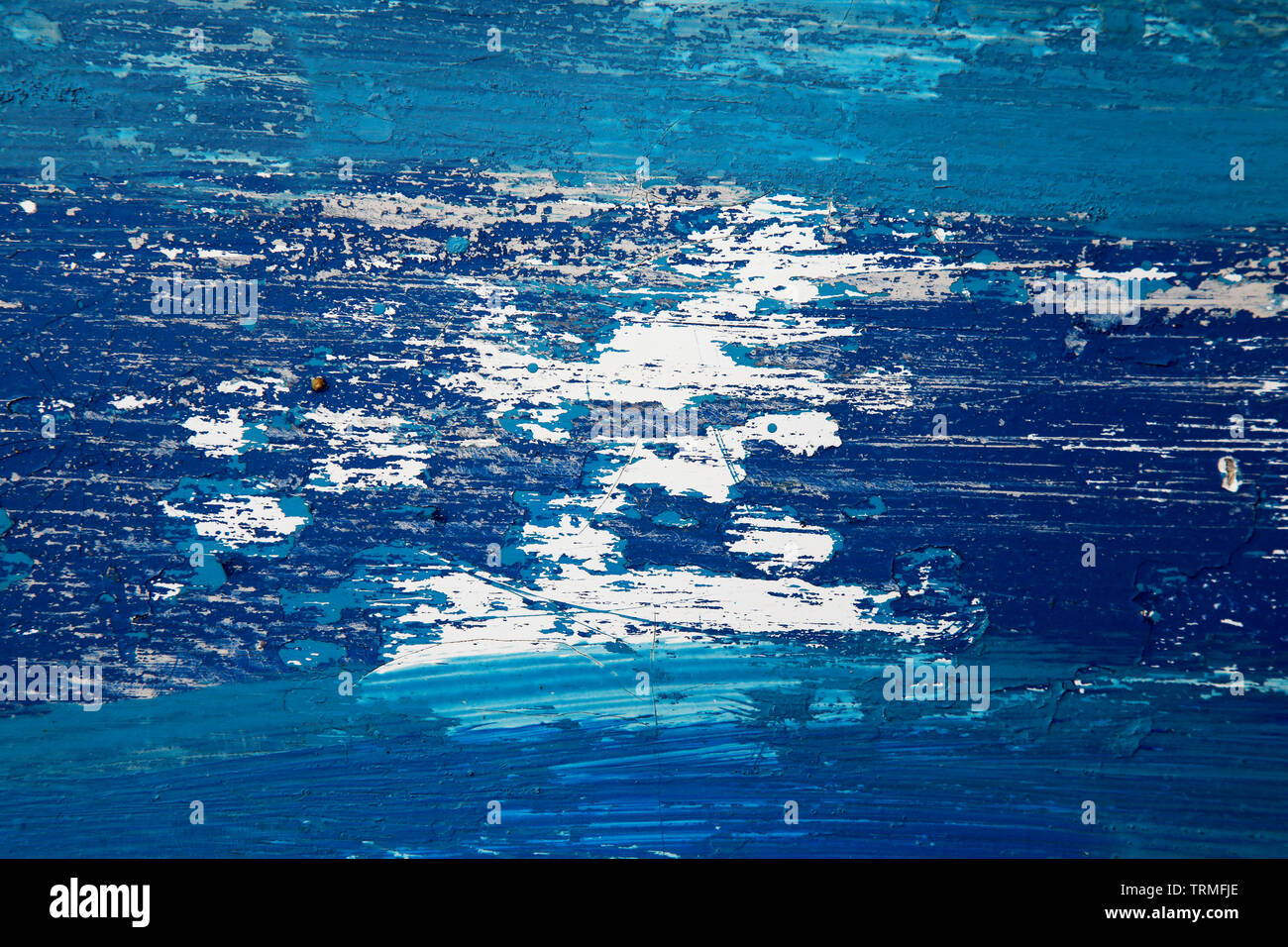 Boat Hull, Keel, Abstract, Paint, Weathered, Scratched, Coast, Vessel, Dirt, Beach, Southend, Essex © Clarissa Debenham / Alamy Stock Photo