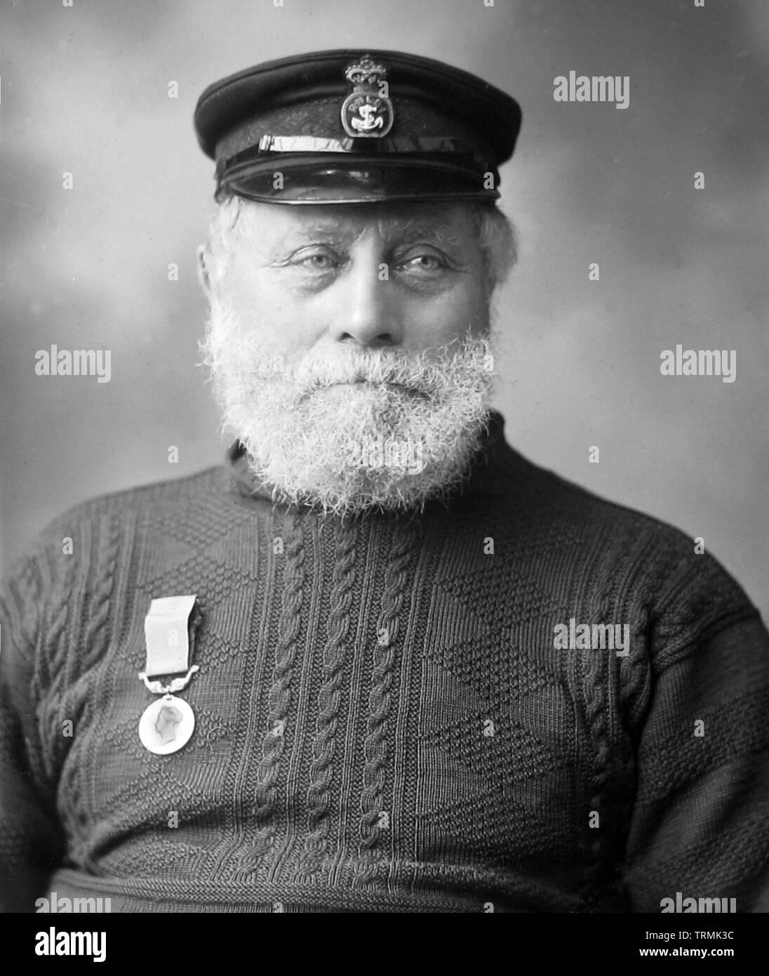 James Haylett in 1901 Stock Photo