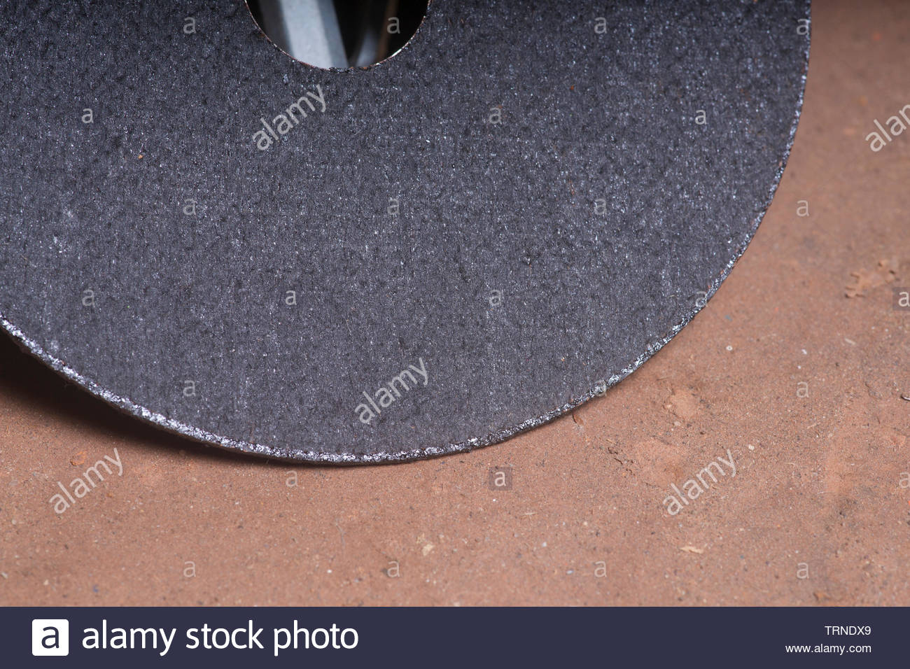 Angle Grinder Cutting Disc - Stock Image