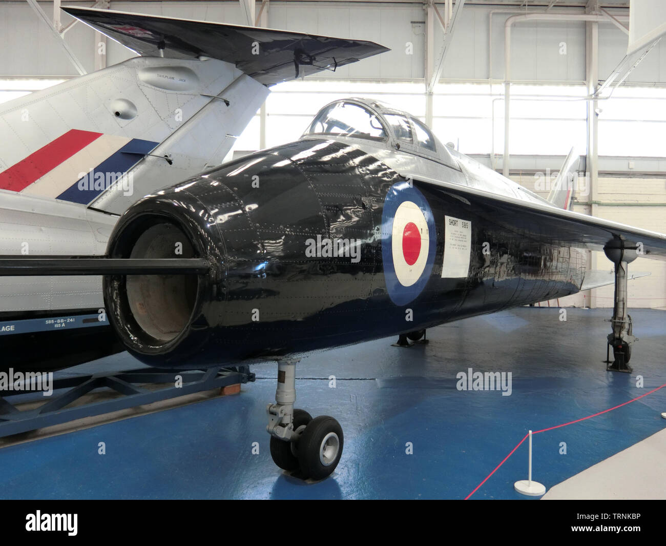Short Brothers 1950s SB5 Experimental Research Jet Aircraft, UK - Stock Image