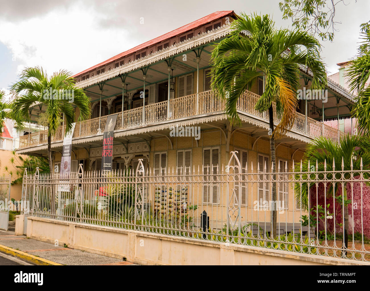 john Perse museum Guadeloupe Stock Photo