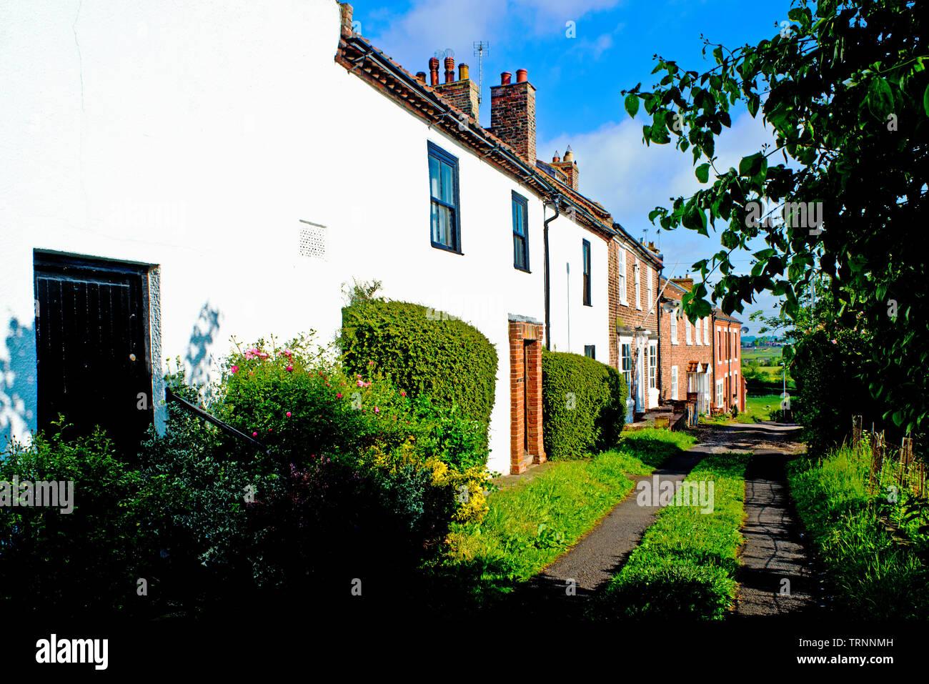 Chapel Row, Sadberge, Borough of Darlington, England Stock Photo