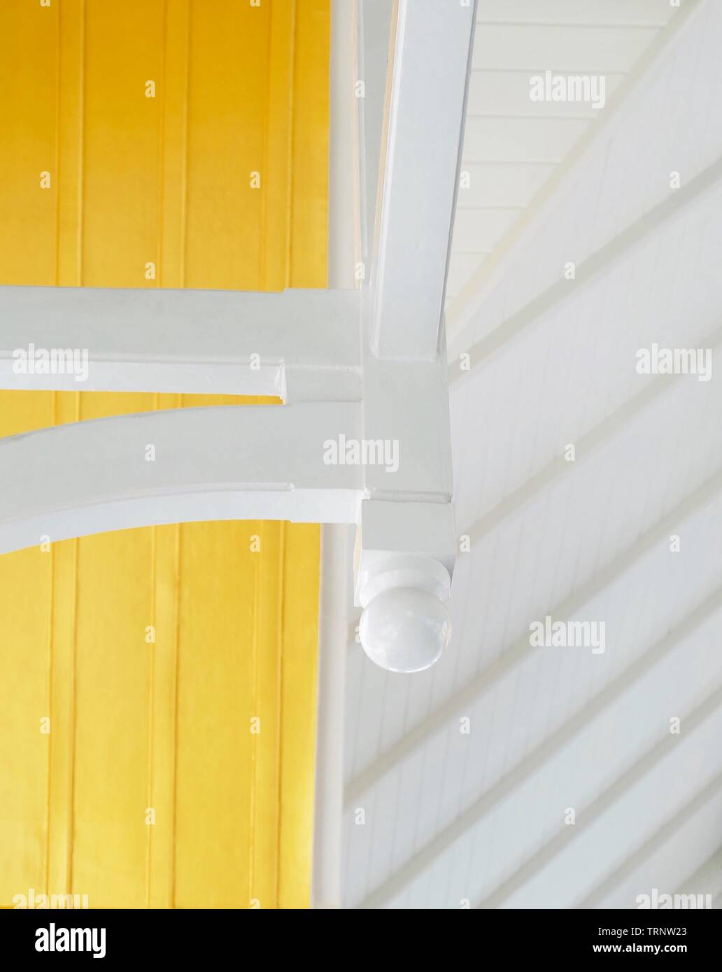 Roof Support Beam Interior Stock Photos & Roof Support Beam Interior