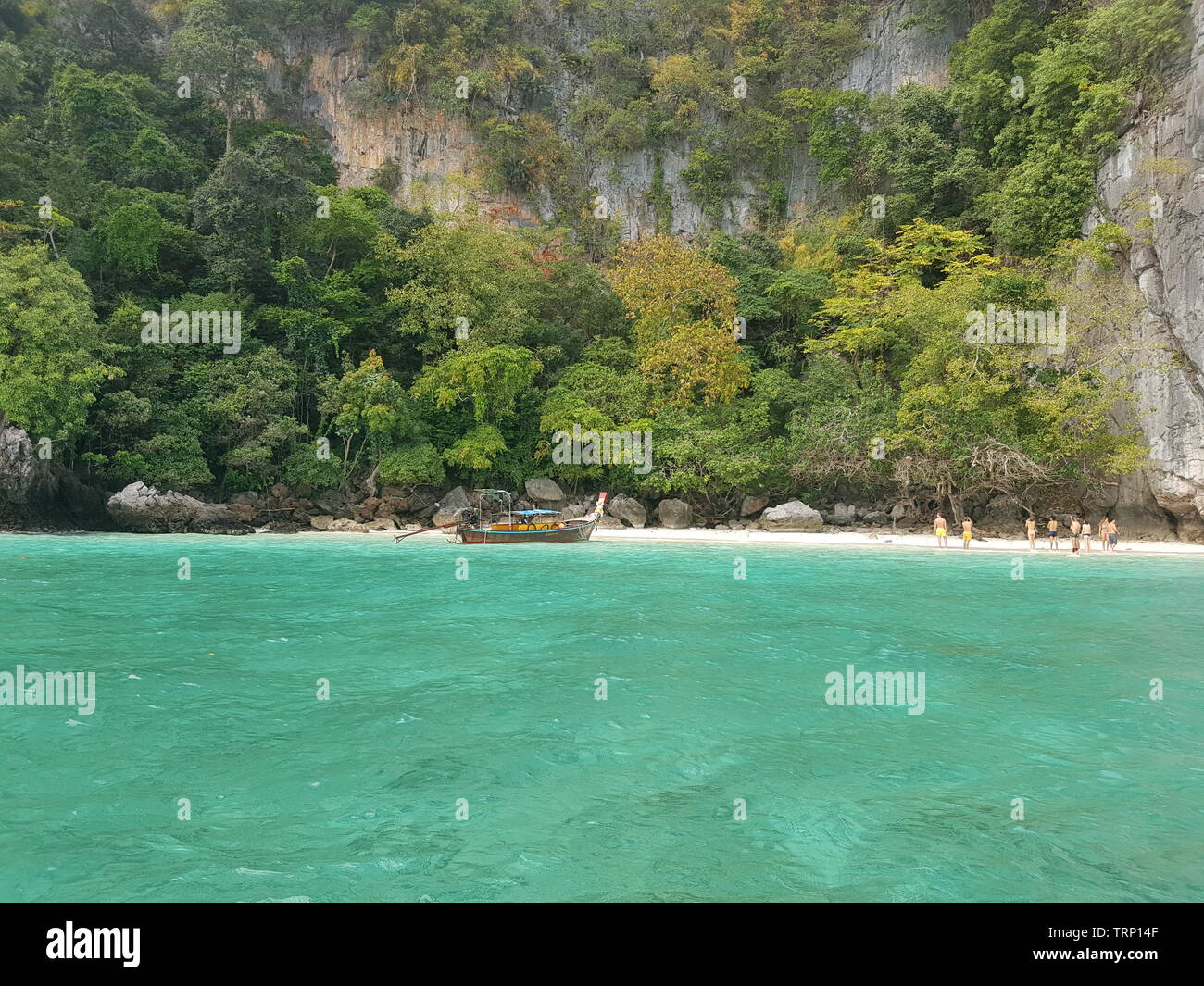 Beautiful Beaches In Thailand Phi Phi Island Monkey Beach