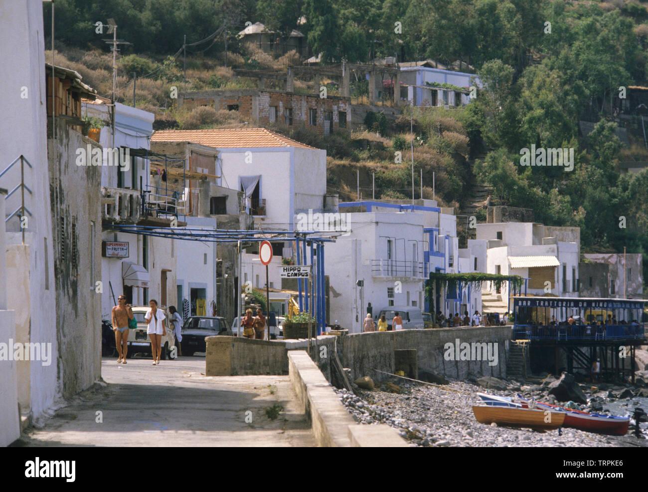 filicudi island, eolie islands (aeolian Islands), messina province, sicilia (sicily), italy Stock Photo