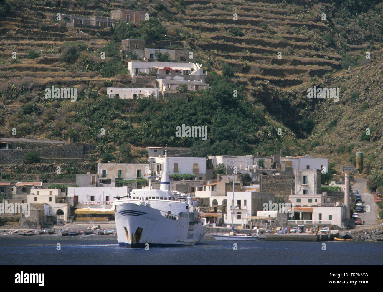filicudi island, eolie islands (aeolian Islands), messina province, sicilia (sicily), italy Stock Photo