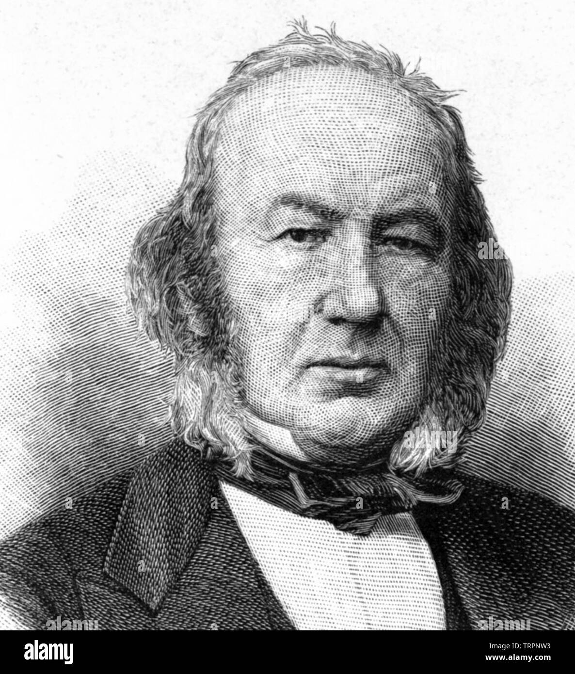 CLAUDE BERNARD (1813-1878) French physiologist - Stock Image