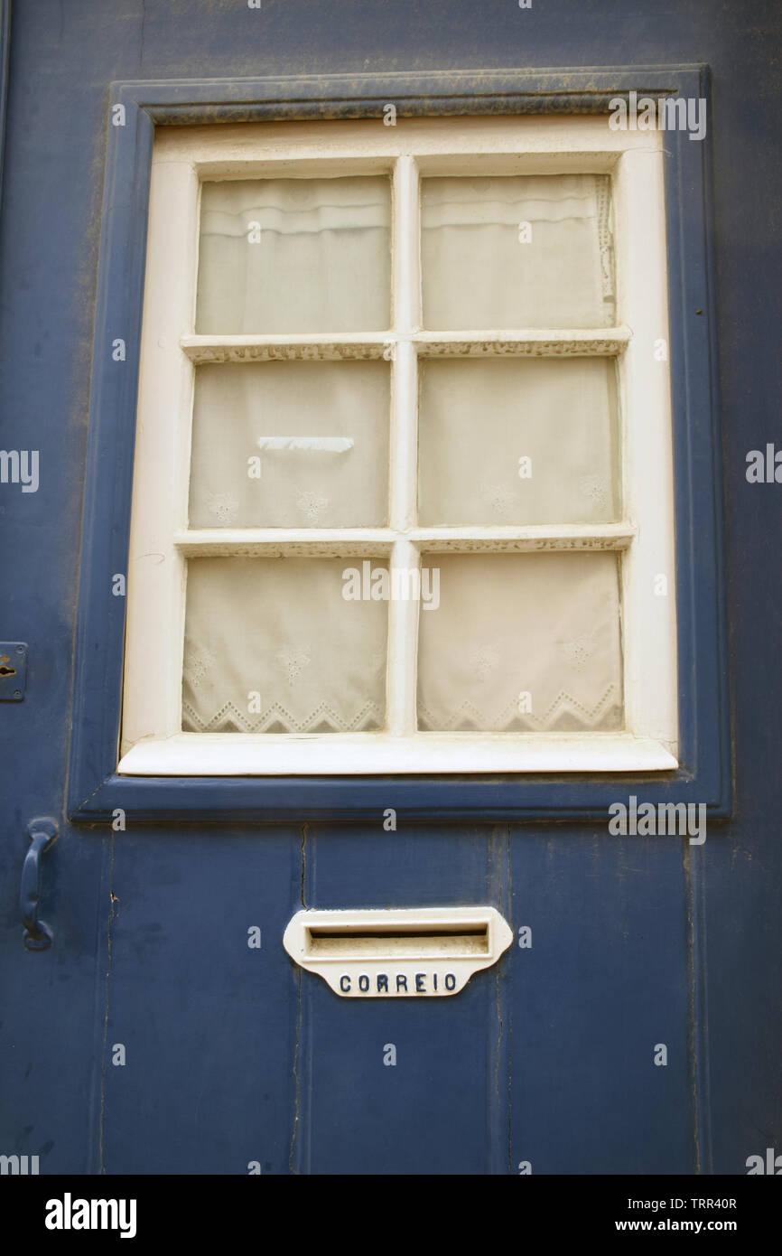 Letter box, Lisbon, Portugal, June 2019 - Stock Image